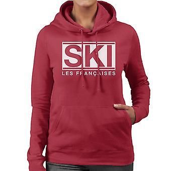Ski Les Francaises Women's Hooded Sweatshirt