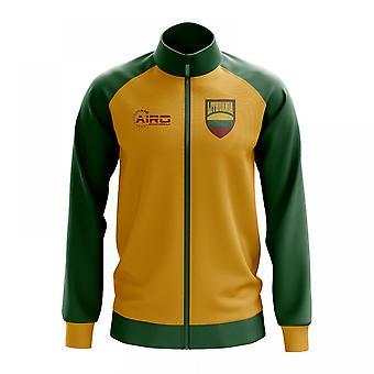 Litauen konceptet fotboll Track Jacket (gul)