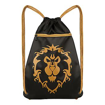 World of Warcraft Alliance Loot Bag DrawString bag 45x35cm