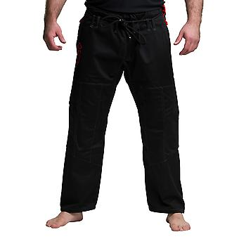 Gameness pérola Jiu-Jitsu Gi calça preta