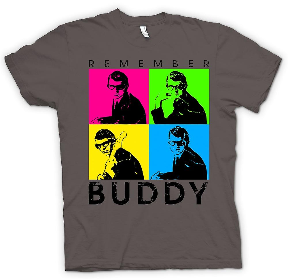 Womens T-shirt - Buddy Holly onthouden