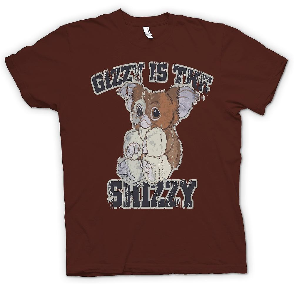 Heren T-shirt-Gizzy Is de Shizzy - Gremlins
