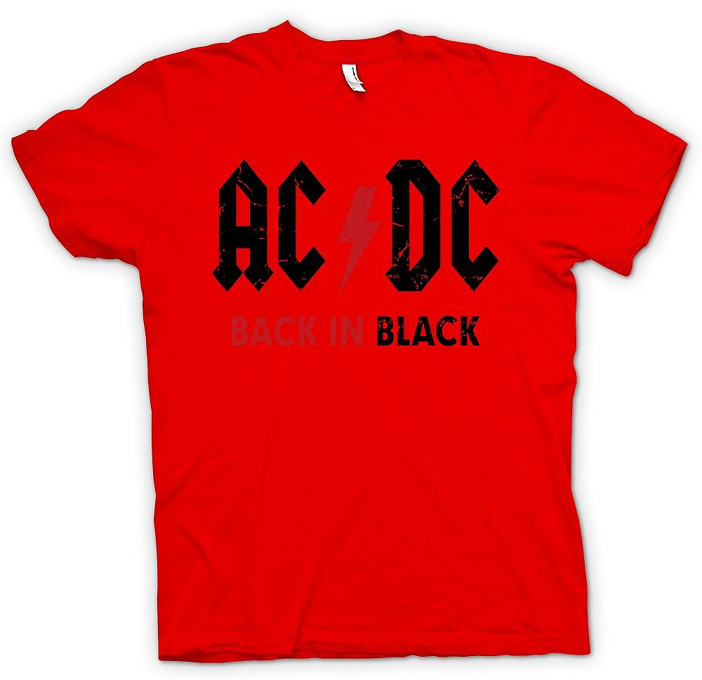 Heren T-shirt - AC/DC - Back In Black