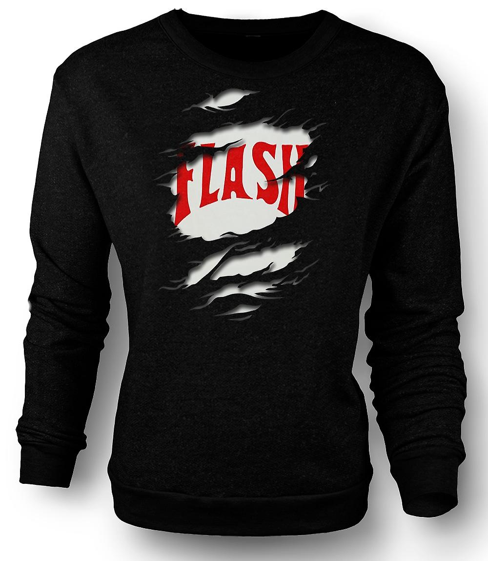 Mens Sweatshirt Flash Gordon - déchiré effet