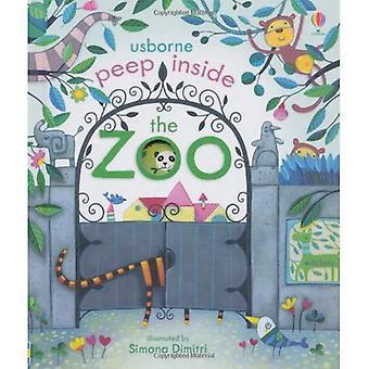 Espreitar para dentro do jardim zoológico