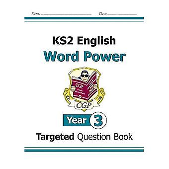 KS2 English Targeted Question Book: Word Power - Year 3