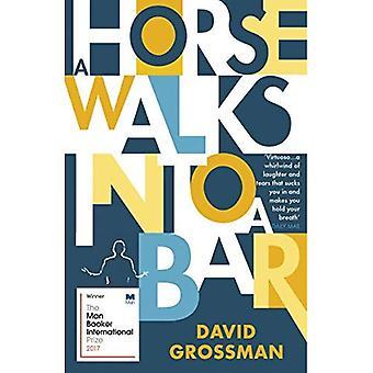 Ein Pferd geht in eine Bar
