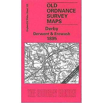 Derby Derwent and Erewash 1895 (Old O.S. Maps of England and Wales) [Folded Map]