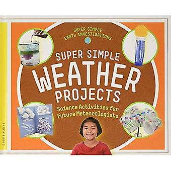 Super Simple Weather Projects: Science Activities� for Future Meteorologists (Super Simple Earth Investigations)