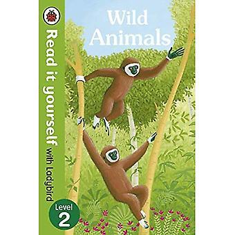 Wilde dieren - Lees het zelf met lieveheersbeestje: niveau 2 (non-fictie) (Lees het zelf niveau 2)