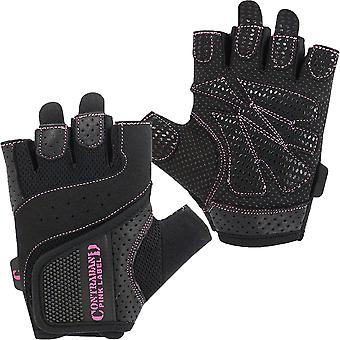 Contraband Sports 5137 Pink Label Weight Lifting Gloves - Black