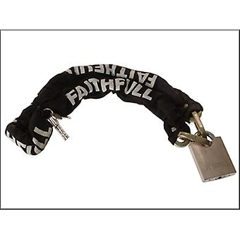 1 METRE HEAVY-DUTY CHAIN & PADLOCK