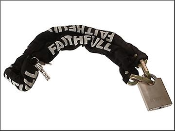 Faithfull 1 Metre Chain & Padlock