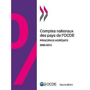 Comptes nationaux des pays de lOCDE Volume 2015 Numro 1  Principaux agrgats by OECD