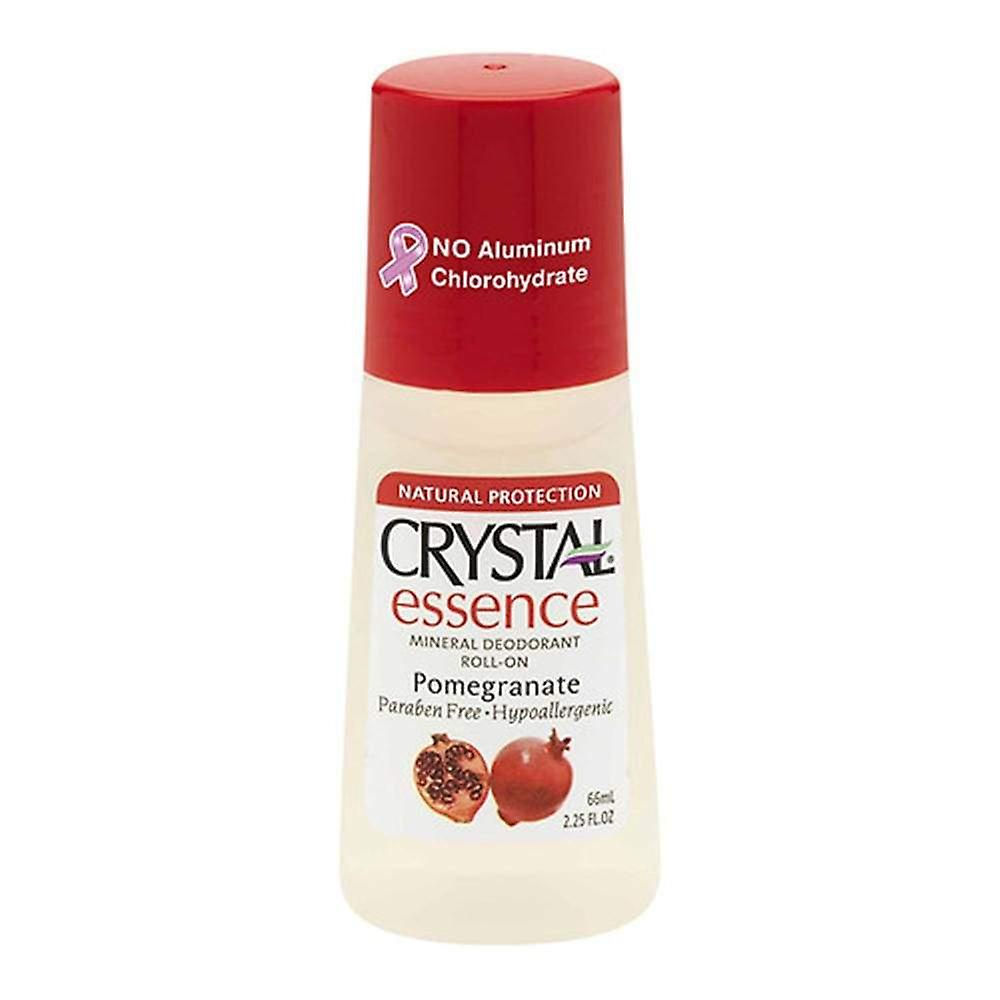Mineral Oz DeodorantPomegranate2 Crystal 25 Essence Roll on TPwXZiOku