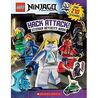 Lego Ninjago - Hack Attack! Sticker Activity Book by Inc Scholastic -