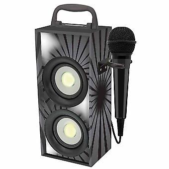 Lexibook Portable Karaoke With Microphone - Black (Model No. BTP155BKZ)