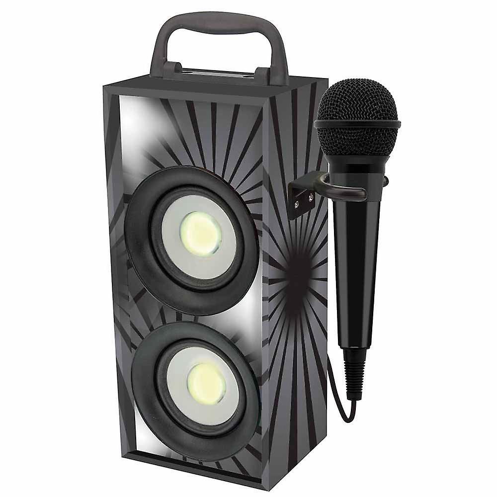 Lexibook Portable Karaoke With Microphone - noir (Model No. BTP155BKZ)