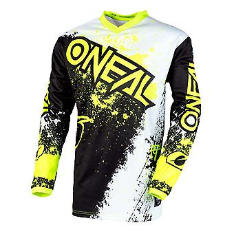 ONeal Black-Neon Yellow 2020 Element Impact MX Jersey