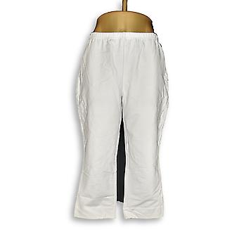 Women with Control Women's Petite Pants LP Pedal Pushers and White A275988