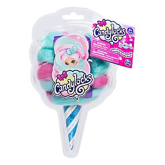 Candylocks - Scented Collectible Surprise Doll - Aqua and Pink
