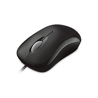 Microsoft Wired Basic Usb Optical Mouse (Black)