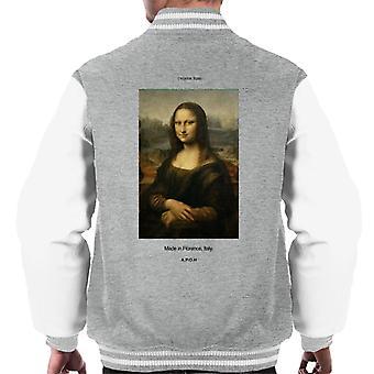 A.P.O.H Mona Lisa Made In Florence Men's Varsity Jacket