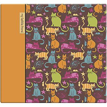 Cute Kittie Post Bound Scrapbook Album 12