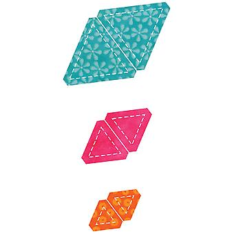 Go! Baby Fabric Cutting Dies Equilateral Triangle 55B 55079