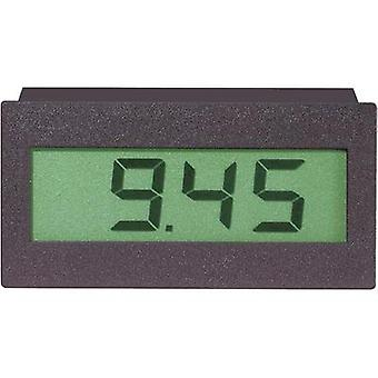 DVM 310VOLTCRAFT®Digital panel mounted measuring device, panel metersAssembly dimensions 68.5 x 33 mm