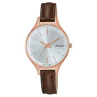 Pulsar Ladies Brown leather PH8282X1 Watch