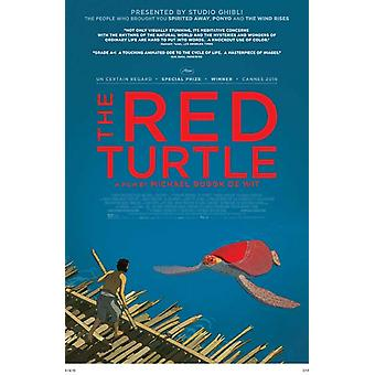 The Red Turtle Movie Poster (11 x 17)
