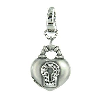 Fossil pendants charms JF86782040 heart with Castle Street