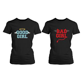 BFF, die passenden Shirts - Good Girl Bad Girl es Best Friends