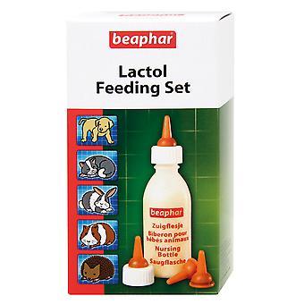Beaphar Lactol voeding instellen