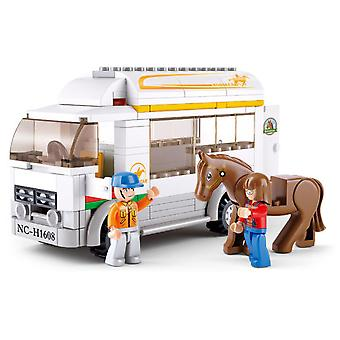 Sluban Town Transportation Equestrian Parts 170 (Toys , Constructions , Vehicles)