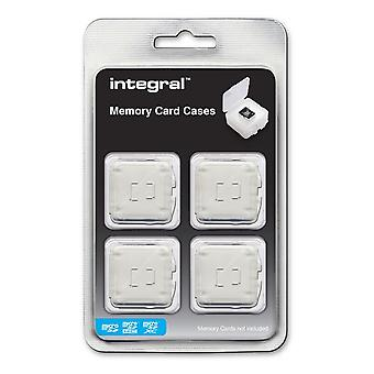 4 Cases for Micro Secure Digital (microSD / microSDHC / microSDXC) Memory Cards