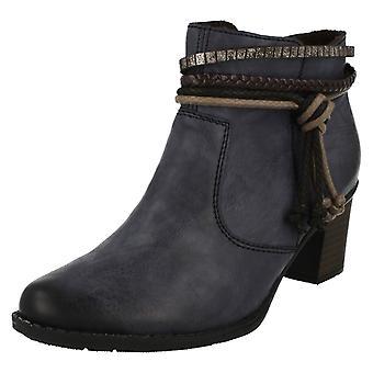 Rieker Damen Heel Ankle Boots L7658