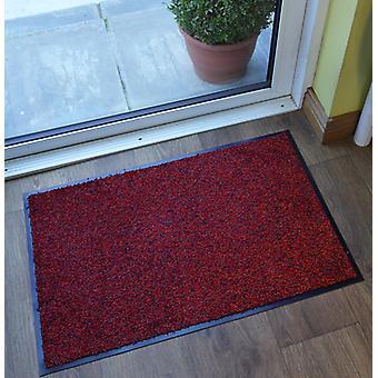 Rød vaskbar tunge kommercielle barriere Mat Nova