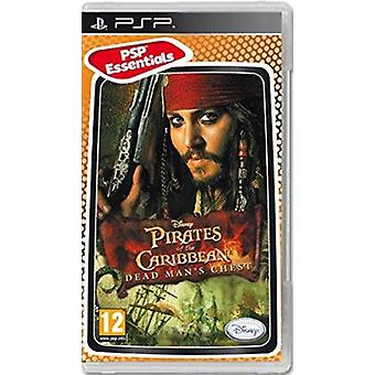 Pirates Of The Caribbean Dead Mans borst Essentials Edition Sony PSP Game