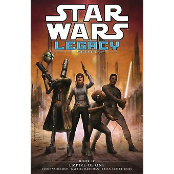 Star Wars Legacy - Empire of One (Vol. II Book 4) (Star Wars Legacy 4) (Paperback) by Bechko Corinna Sarah Hardman Gabriel
