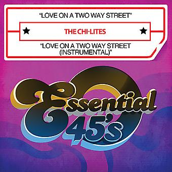 Chi-Lites - Love on a Two Way Street/Love on a Two Way Street [CD] USA import