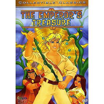Kejserens skat [DVD] USA importerer