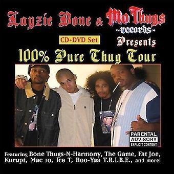 Layzie Bone Presents - 100% Thug Tour [CD] USA import