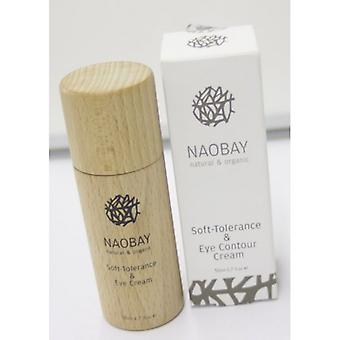 Lov Skincare and Cosmetics Naobay Natural And Organic Soft Tolerance And Eye Contour Cream