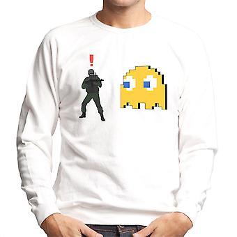 Metal Gear Solid wroga żołnierza Alert Clyde Ghost Pac Man Men's Bluza