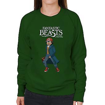 Fantastiske dyr aske Pokemon kvinders Sweatshirt