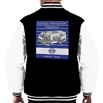 Haynes Workshop Manual 0637 Volkswagen LT Van Stripe Men's Varsity Jacket