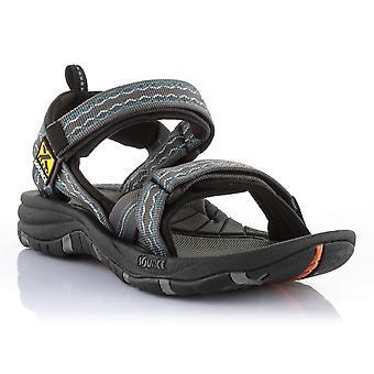 Kilde mænds sandal Gobi brun blå - 102021RB