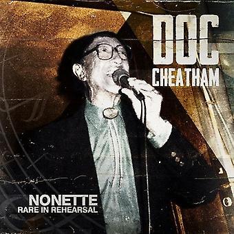 Doc Cheatham - Nonette sjældne i generalprøven [CD] USA import